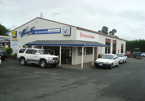 Exterior of Waiau Pa Automotive Solutions Workshop